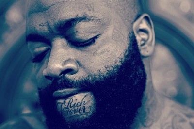 Rick Ross' Chin Tattoo Reads He's 'Rich Forever' (Photo)