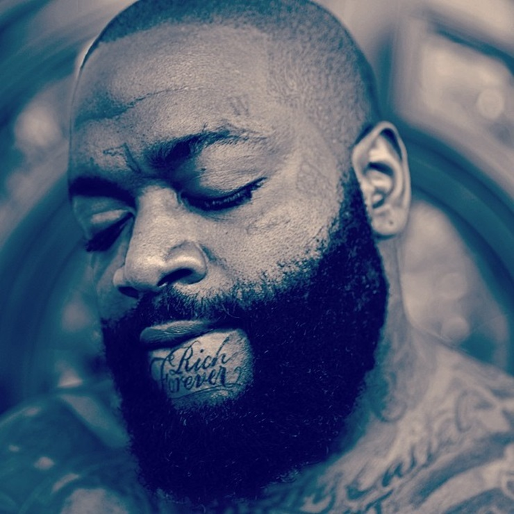 Rick Ross Rich Forever Tattoo